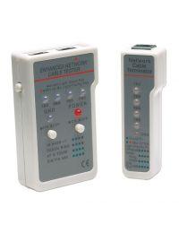 Probador de Cable INTELLINET Multifuncional RJ11 RJ45