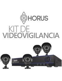 Kit de Video Vigilancia GHIA DVR 8 Can, Pentahibrido 1080N, VGA/HDMI, 4 Cam Bala 720P, Accesorios, Incluye DD 1 TB