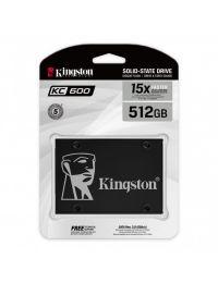 """SSD Unidad de Estado Solido KINGSTON SKC600 512GB 2.5"""""""