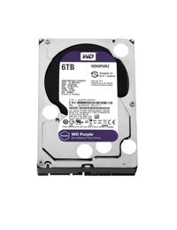 Disco Duro Western Digital Purple de 6 TB para bahia de 3.5 pulgadas SATA3 Para DVR y NVR