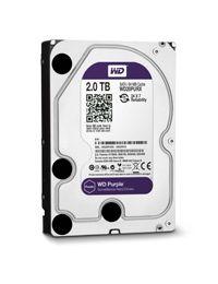 """Disco Duro WD Purple 3.5"""" 2 TB SATA3 Para DVR y NVR con Hasta 8 Bahias/64 Camaras"""