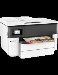 Multifuncional De Inyeccion Hp Officejet Pro  Hp 7740, Aio 34 Ppm Negro/ 18 Ppm Color, Wifi, Doble Carta, Duplex