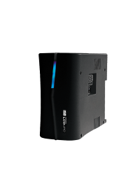 NO BREAK SOLA BASIC ISB PROTECTOR LCD450 C/REG 450 VA / 300 WATTS, GABINETE PLASTICO NEGRO, 8 CONT