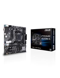 Tarjeta Madre ASUS Prime A520M-K Socket AM4 3a Gen