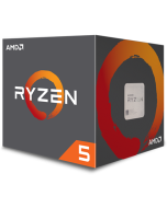 Procesador AMD Ryzen 5 1400 Socket AM4 Hasta 3.4GHz 4 Nucleos, Ventilador AMD Wraith Stealth Iluminado, Sin Graficos Integrados