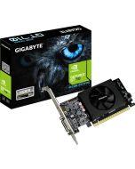 Tarjeta de Video GIGABYTE GeForce GT 710 con 2GB en RAM y puertos DVI-I y HDMI Bajo Perfil GV-N710D5-2GL