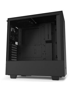 Gabinete Gamer NZXT H510 Compact Media Torre Negro Mate